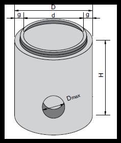 Element de bază pentru camine (Radier)