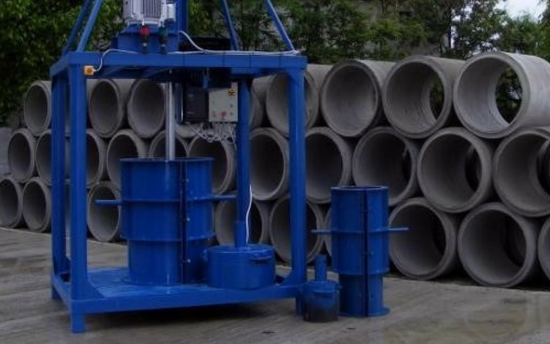 Cum se fabrică tuburile din beton?